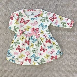 Touched by Nature Dress Butterfly 3-6 Months Pink